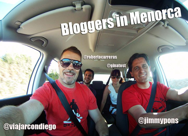 Blogtrip en menorca con bloggers