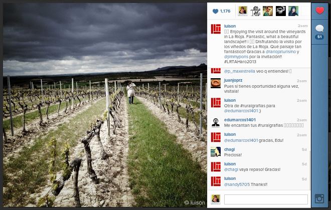 Foto Instagram Luison