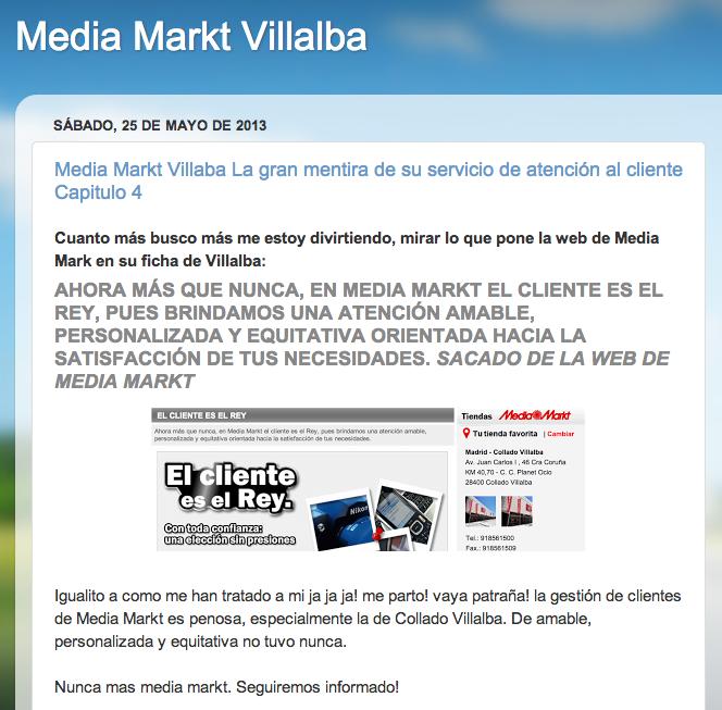 Media markt villalba 4